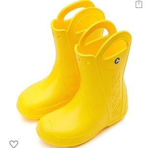 Kids handle it rainboot by crocs